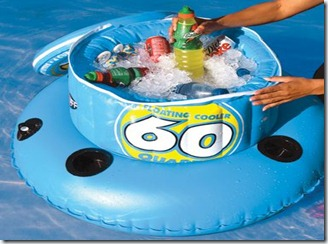 Tubing floating cooler