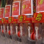 jelly belly beans red containers