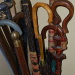 umbrellas and canes party and entertain